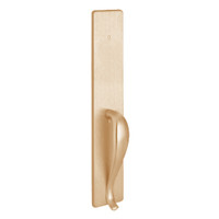 1702B-612 PHI Dummy Trim with B Design Pull for Exit Only Apex and Olympian Series Exit Device in Satin Bronze Finish