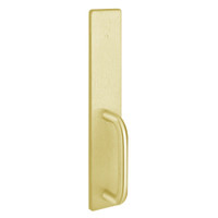 1702C-605 PHI Dummy Trim with C Design Pull for Exit Only Apex and Olympian Series Exit Device in Bright Brass Finish