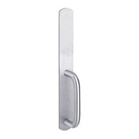 2002C-625 PHI Dummy Trim with C Design Pull for Apex Narrow Stile Device in Bright Chrome Finish
