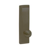 G957-613 Corbin ED5000 Series Exit Device Trim with Nightlatch Knob in Oil Rubbed Bronze Finish