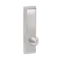 G957-629 Corbin ED5000 Series Exit Device Trim with Nightlatch Knob in Bright Stainless Steel Finish