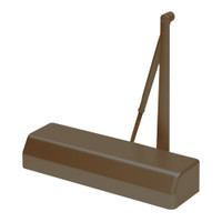 D-4550AVB-690 Stanley D-4550 Surface Closers with Standard Parallel and Top Jamb Arm in Statuary Bronze Finish