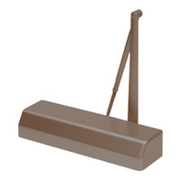 D-4550DA-695 Stanley D-4550 Surface Closers with Standard Parallel and Top Jamb Arm in Dark Bronze Painted Finish