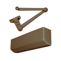 D-4550S-690 Stanley D-4550 Surface Closers with Heavy Duty Stop Parallel Arm in Statuary Bronze Finish
