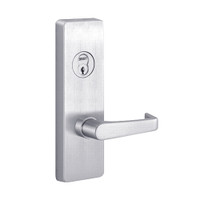 RVM4908A-625-RHR PHI Key Controls Lever Vandal Resistant Retrofit Trim with A Lever Design for Apex and Olympian Series Exit Device in Bright Chrome Finish