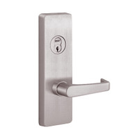 RVM4908A-630-RHR PHI Key Controls Lever Vandal Resistant Retrofit Trim with A Lever Design for Apex and Olympian Series Exit Device in Satin Stainless Steel Finish
