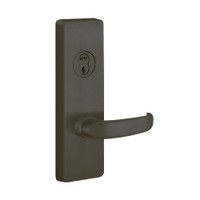 RVM4908D-613-RHR PHI Key Controls Lever Vandal Resistant Retrofit Trim with D Lever Design for Apex and Olympian Series Exit Device in Oil Rubbed Bronze Finish