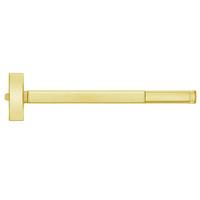 TSFL2114-605-36 PHI 2100 Series Fire Rated Apex Rim Exit Device with Touchbar Monitoring Switch Prepped for Lever-Knob Always Active in Bright Brass Finish