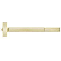 TSFL2115-606-36 PHI 2100 Series Fire Rated Apex Rim Exit Device with Touchbar Monitoring Switch Prepped for Thumb Piece Always Active in Satin Brass Finish