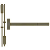 TSFL2214LBR-613-48 PHI 2200 Series Apex Surface Vertical Rod Device with Touchbar Monitoring Switch Prepped for Lever-Knob Always Active in Oil Rubbed Bronze Finish