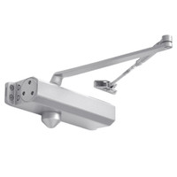 D-1610-689 Stanley D-1610 Surface Closers with Standard Parallel and Top Jamb Arm in Aluminum Painted Finish