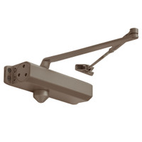 D-1610-695 Stanley D-1610 Surface Closers with Standard Parallel and Top Jamb Arm in Dark Bronze Painted Finish