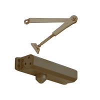 D-1610FCH-690 Stanley D-1610 Surface Closers Hold Open Standard and Top Jamb Only Arm with Full Cover in Statuary Bronze Finish
