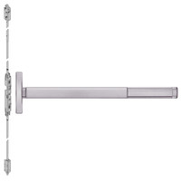 TSFL2614LBR-630-48 PHI 2600 Series Fire Rated Concealed Vertical Rod Exit Device with Touchbar Monitoring Switch Prepped for Lever Always Active in Satin Stainless Steel Finish