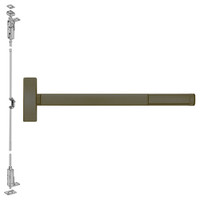 TSFL2708LBR-613-48 PHI 2700 Series Wood Door Concealed Vertical Exit Device with Touchbar Monitoring Switch Prepped for Key Controls Lever-Knob in Oil Rubbed Bronze Finish