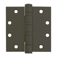 5BB1HW-5x5-641 IVES 5 Knuckle Ball Bearing Full Mortise Hinge in Oxidized Satin Bronze