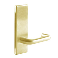 L9010-03N-605 Schlage L Series Passage Latch Commercial Mortise Lock with 03 Cast Lever Design in Bright Brass