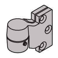 "7212V-INT-US26D-LH IVES 7212 3/4"" Offset Intermediate Pivot Jamb Mount in Satin Chrome"