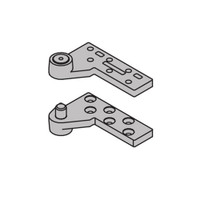 """7237F-TOP-SP28-RH IVES Fire Rated 7237F 3/4"""" Offset Top Pivot in Sprayed Aluminum"""