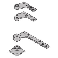 """7244F-SET-US10 IVES Fire Rated 7244F 1-1/2"""" Offset Top & Bottom Pivot in Satin Bronze"""