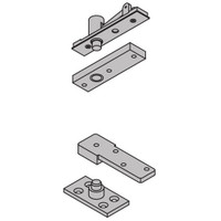 """7255-SET-US10B IVES 7255 1-1/2"""" Center Hung Top & Bottom Pivot in Oil Rubbed Bronze"""