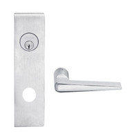 L9082P-05N-626 Schlage L Series Institution Commercial Mortise Lock with 05 Cast Lever Design in Satin Chrome