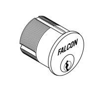 """986-G-626 Falcon Lock Mortise Cylinder, 1-1/4"""", G Keyway, 5622-STD Cam, MA Series Except MA381 in Satin Chrome"""
