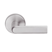L9082R-01B-630 Schlage L Series Institution Commercial Mortise Lock with 01 Cast Lever Design and Full Size Core in Satin Stainless Steel