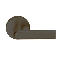 L9457P-01B-613 Schlage L Series Classroom Security w/Deadbolt Commercial Mortise Lock with 01 Cast Lever Design in Oil Rubbed Bronze