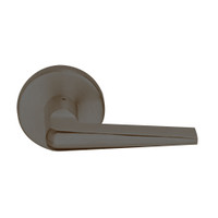 L9457P-05A-613 Schlage L Series Classroom Security w/Deadbolt Commercial Mortise Lock with 05 Cast Lever Design in Oil Rubbed Bronze