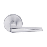 L9457P-05B-626 Schlage L Series Classroom Security w/Deadbolt Commercial Mortise Lock with 05 Cast Lever Design in Satin Chrome
