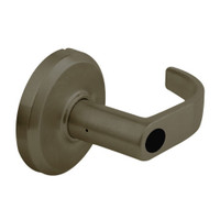 QCL254M613NR8FLSLC Stanley QCL200 Series Less Cylinder Corridor Lock with Summit Lever in Oil Rubbed Bronze Finish