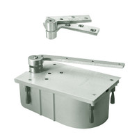 "127-105N-CWF-LH-619 Rixson 27 Series Heavy Duty 3/4"" Offset Hung Floor Closer in Satin Nickel Finish"