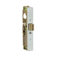 4913-35-IB Adams Rite Mortise Lock Heavy Duty Deadlatch Lock, Body Only 1-1/8 In Backset, Less Strike, LH or RHR, Zinc Plated