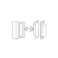 Detex MS-2049SI Heavy Duty Magnetic Contact for In-Swinging Door