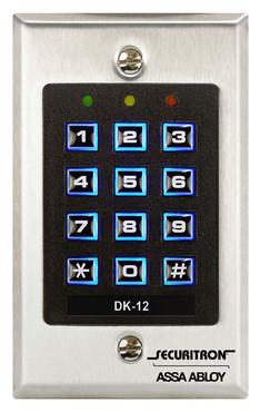 DK12 Securitron Digital Keypad