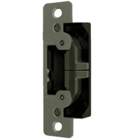 7400-313 Adams Rite UltraLine Electric Strike for Radius Jambs in Dark Bronze Anodized Finish
