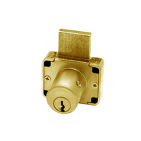 Olympus 600DW-KD-US4-1-3/8 Deadbolt Locks in Satin Brass Finish