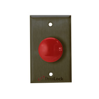 6210-US10B DynaLock 6000 Series Pushbuttons and Palm Switch in Oil Rubbed Bronze