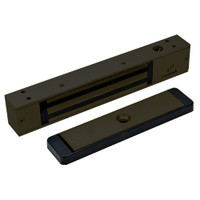 2511-US10B-DYN DynaLock 2500 Series 650 LB Mini-Mag Single Electromagnetic Lock for Outswing Door with Dynastat Force Sensor in Oil Rubbed Bronze