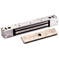 2268-10-US28 DynaLock 2268 Series Single Classic Low Profile Electromagnetic Lock for Outswing Door in Satin Aluminum