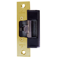 1614S-US3 DynaLock 1600 Series Electric Strike for Standard Profile in Bright Brass