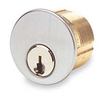 "Ilco 7205SC1 Mortise Cylinder 1 1/4"" Keyed Alike 42642"