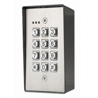ASP-KP-400 ASP Alarm Control Digital Keypad Weather-Proof, Tamper-Resistant with Metal Back Box