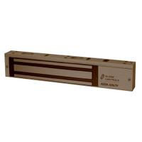 ASP-600SDURO ASP Alarm Control 600 Pound Single Door Magnetic Lock in Dark Bronze