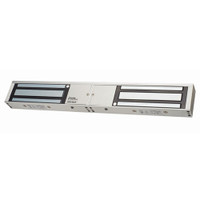 ASP-1200D ASP Alarm Control 1200 Pound Double Door Magnetic Lock in Clear Anodized