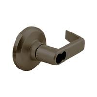 QCL171E613S4118FLC Stanley QCL100 Series Less Cylinder Storeroom Lock with Sierra Lever Prepped for SFIC in Oil Rubbed Bronze Finish