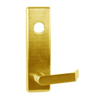 510L-D-US3 Falcon Lock Exit Device Trim 25 Series Lever Trim, Classroom Function with Dane Lever Design in Bright Brass