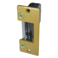 HD005-24DC Trine Light Commercial Electric Strikes in Brass Powder Finish