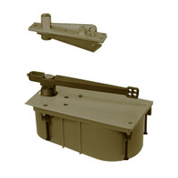 SC28-90S-CWF-LH-613 Rixson 28 Series Heavy Duty Single Acting Center Hung Floor Closer in Oil Rubbed Bronze Finish